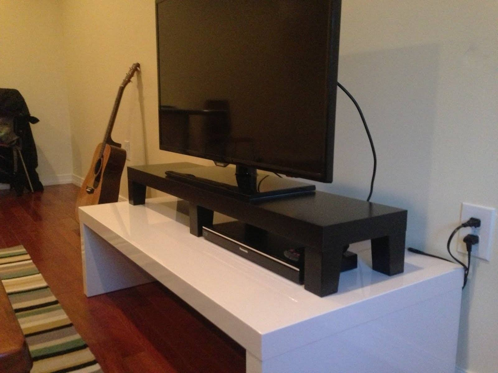 Lack Tv Riser - Ikea Hackers - Ikea Hackers pertaining to Tv Riser Stand (Image 8 of 15)