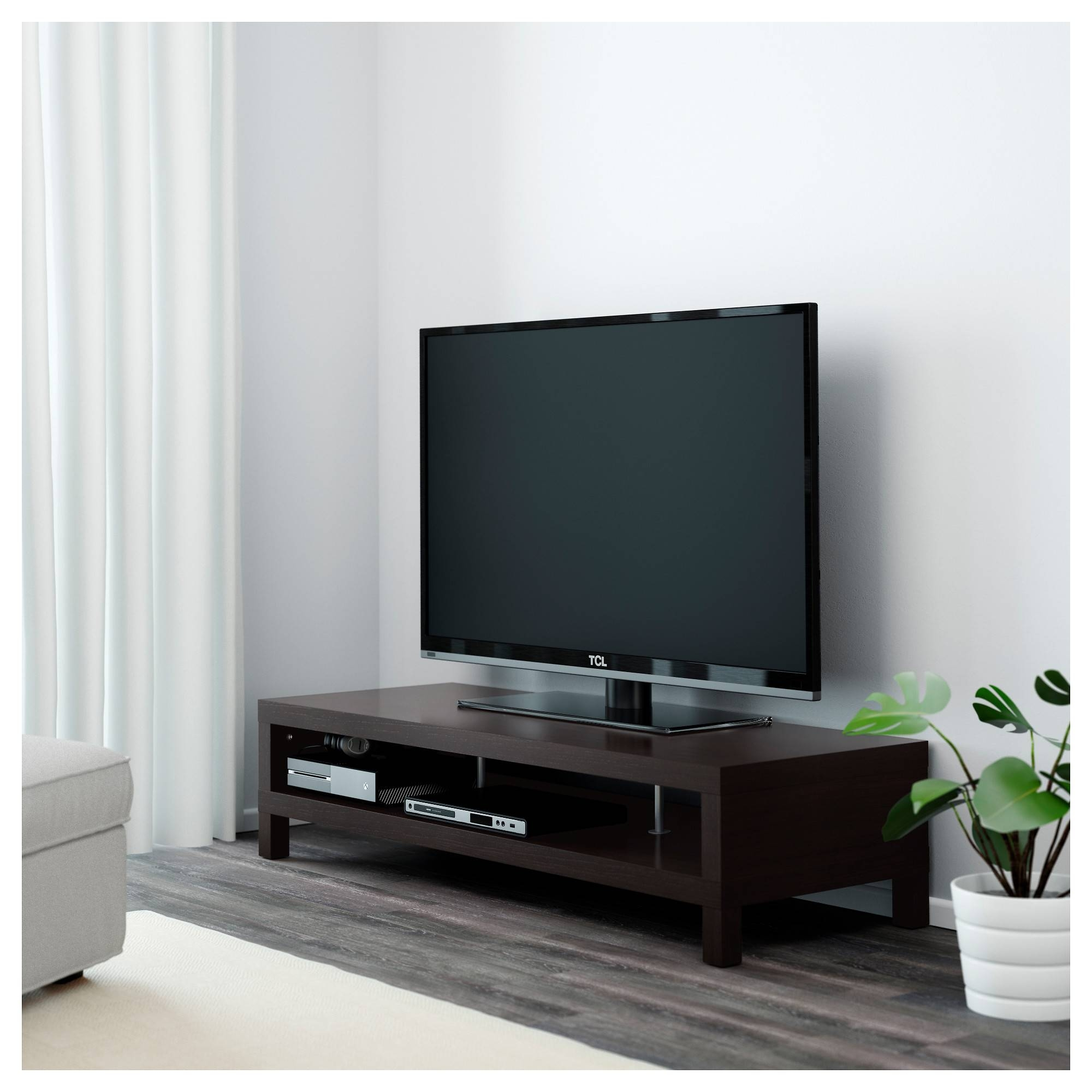 Lack Tv Unit - Ikea with regard to Dark Tv Stands (Image 7 of 15)