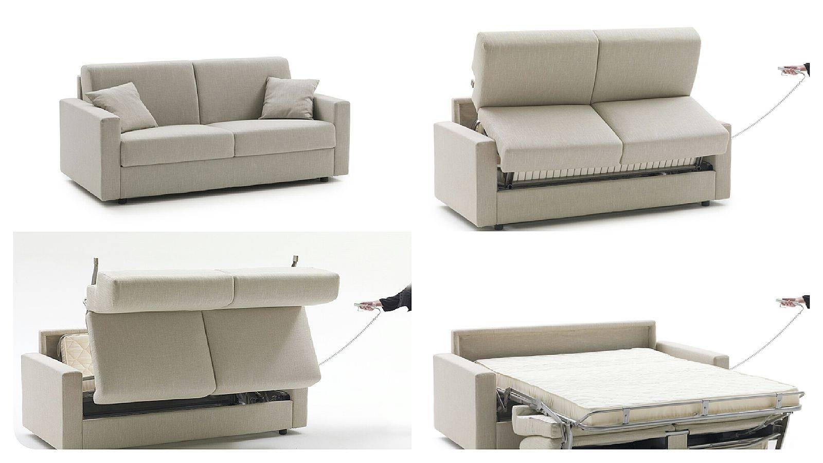 Lampo Motion From Milano Bedding Is A Stylish Sofa Bed With Regarding Electric Sofa Beds (Photo 10 of 15)