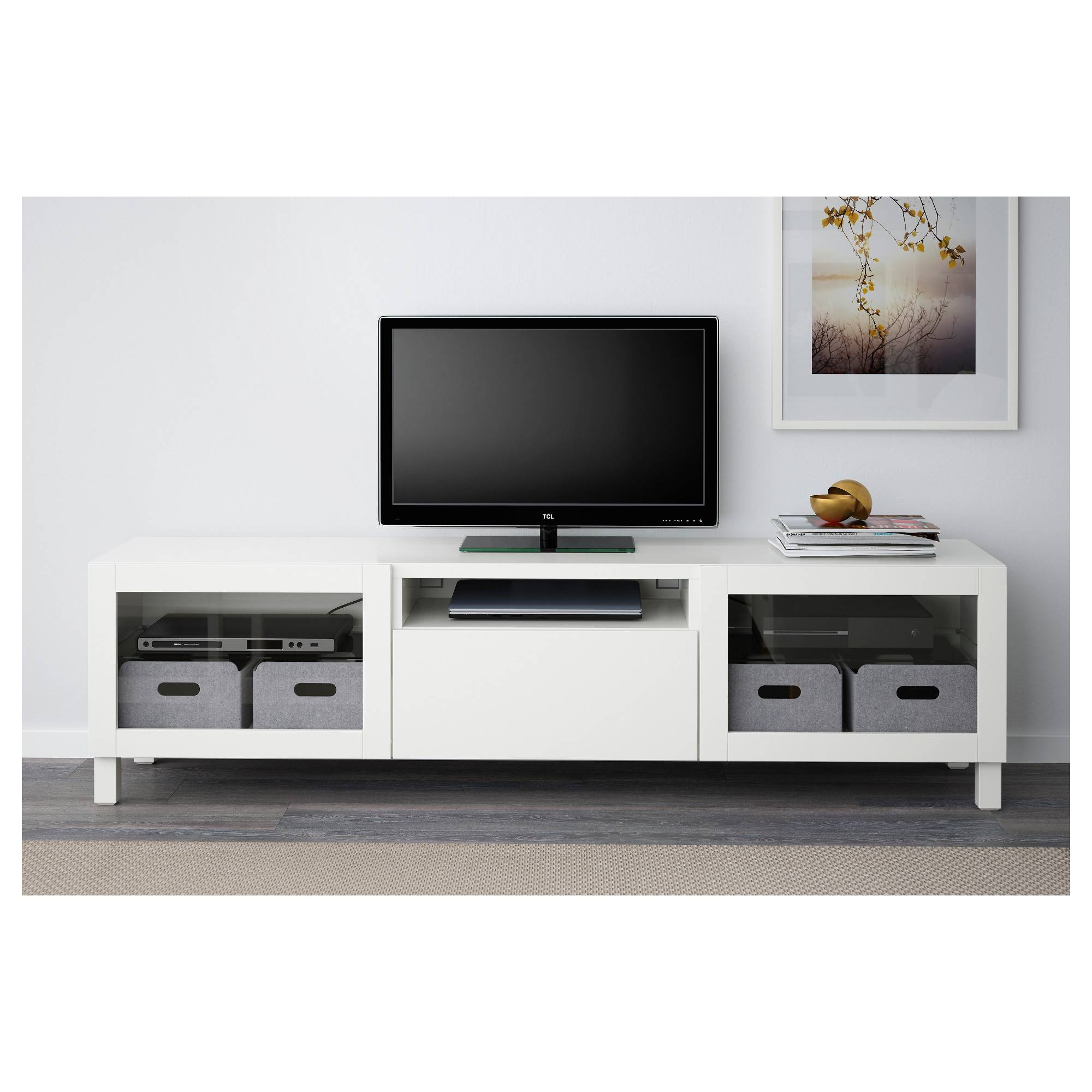 Lappviken Drawer Front - Light Grey - Ikea throughout 60 Cm High Tv Stand (Image 5 of 15)
