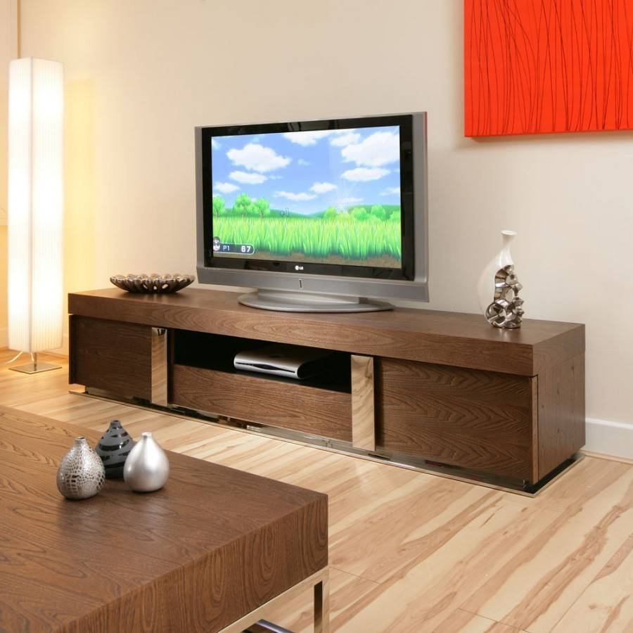 Large Tv Television Cabinet Entertainment Unit Center Elm Wood 912 with Large Tv Cabinets (Image 7 of 15)