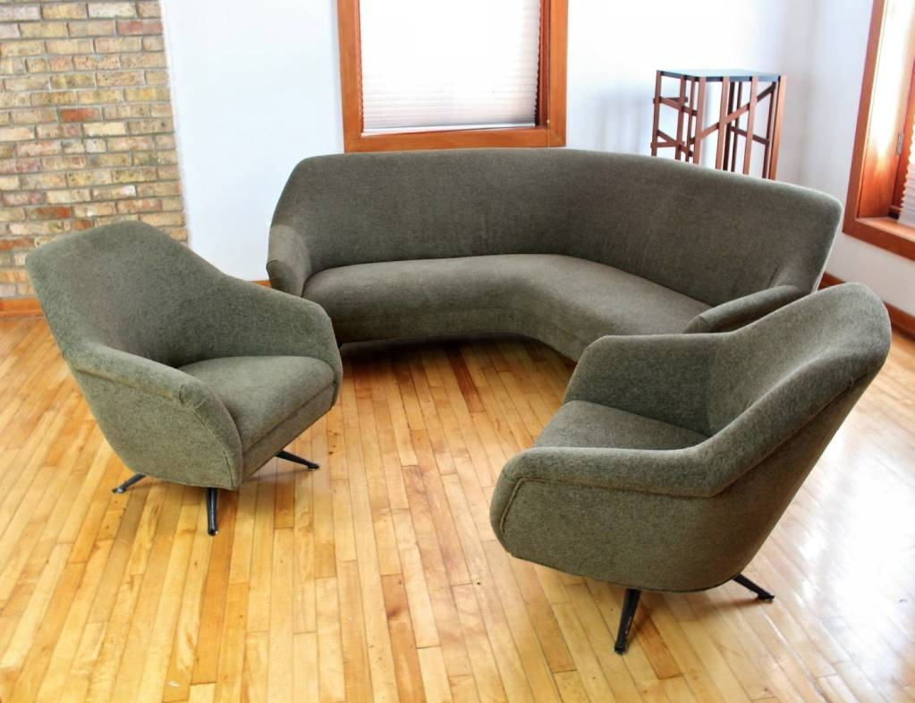 Featured Photo of Small Curved Sectional Sofas