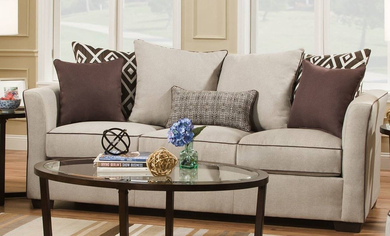Latitude Run Simmons Upholstery Heath Sleeper Sofa & Reviews | Wayfair in Simmons Sleeper Sofas (Image 6 of 15)
