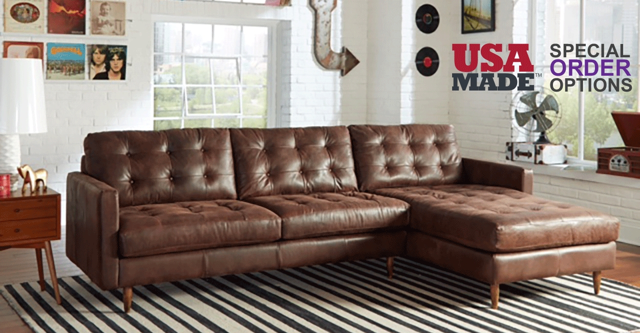 Leather – Biltrite Furniture throughout Bomber Leather Sofas (Image 11 of 15)