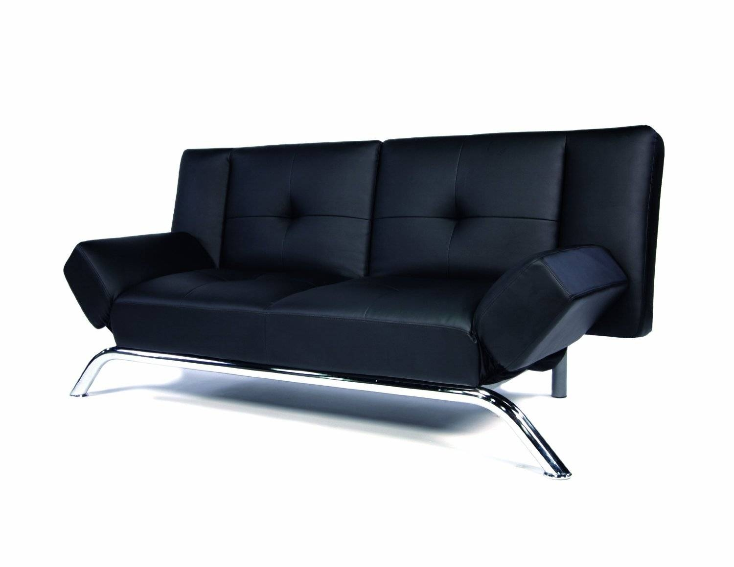 Leather Convertible Sofa with Black Leather Convertible Sofas (Image 10 of 15)