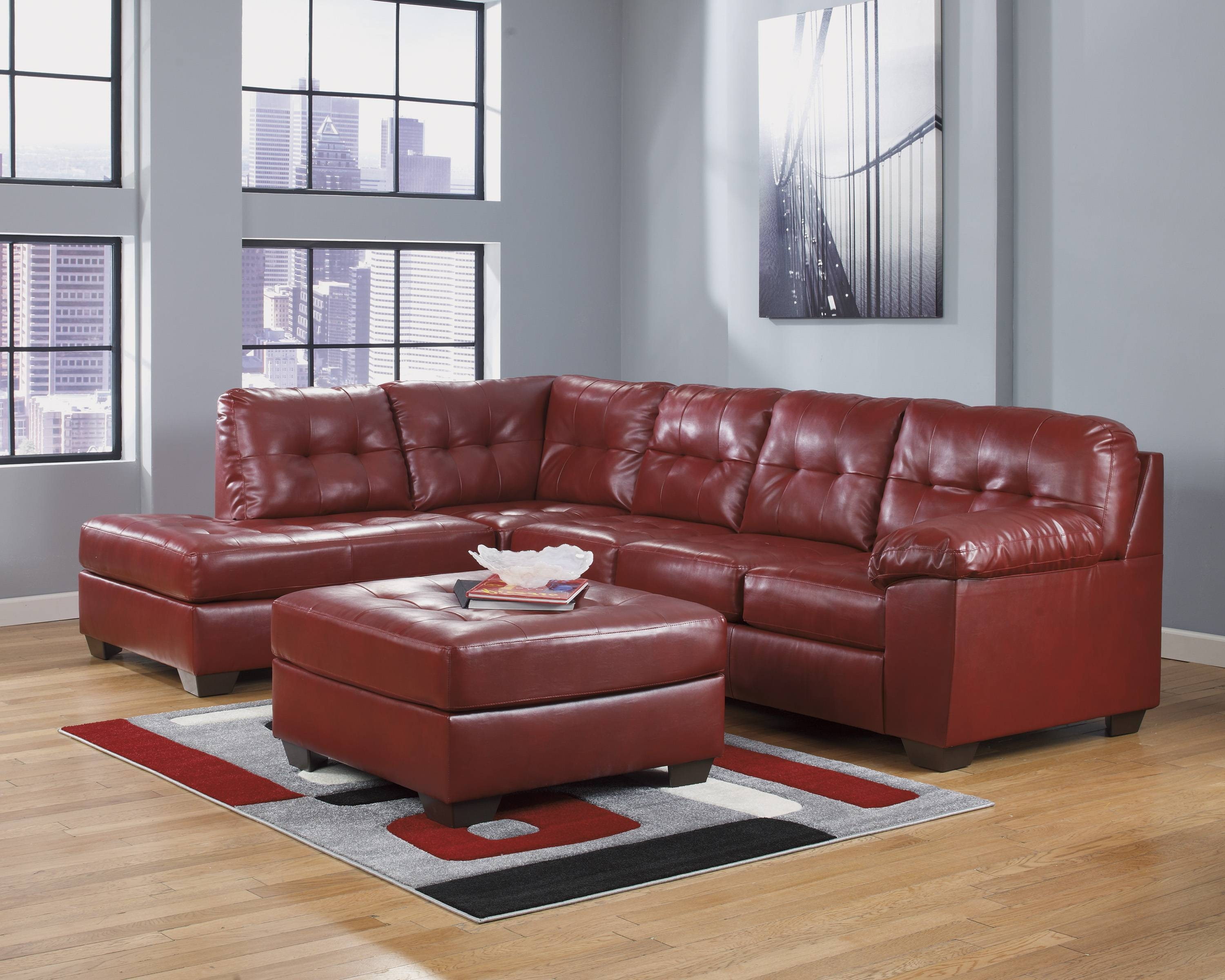Featured Photo of Ashley Furniture Leather Sectional Sofas