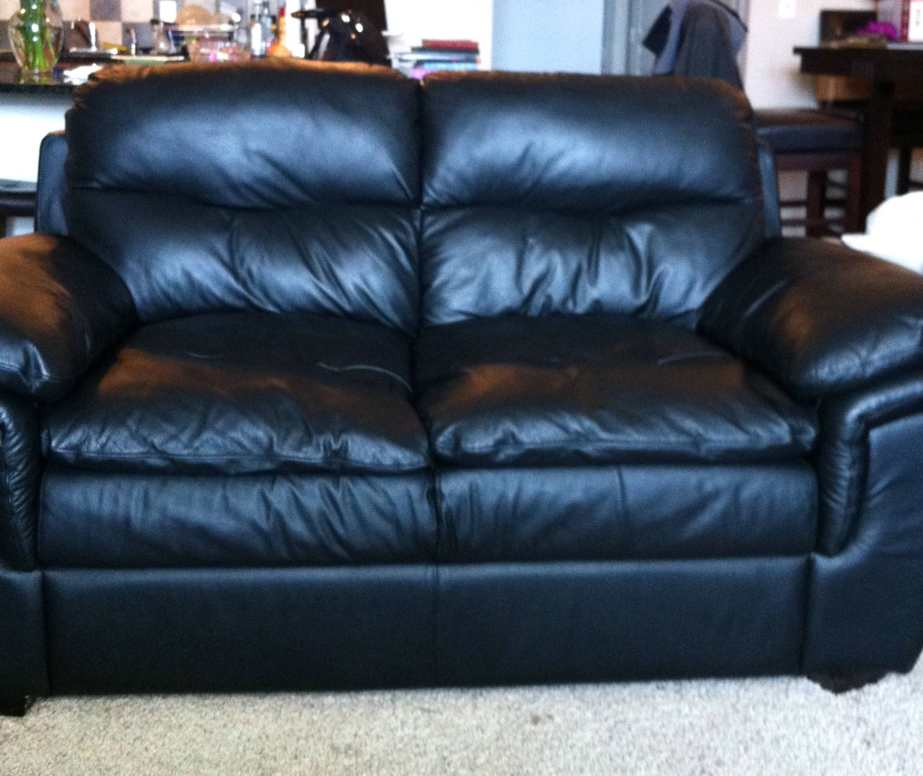 Leather | Stuff For Sale regarding Black Leather Sofas and Loveseats (Image 12 of 15)