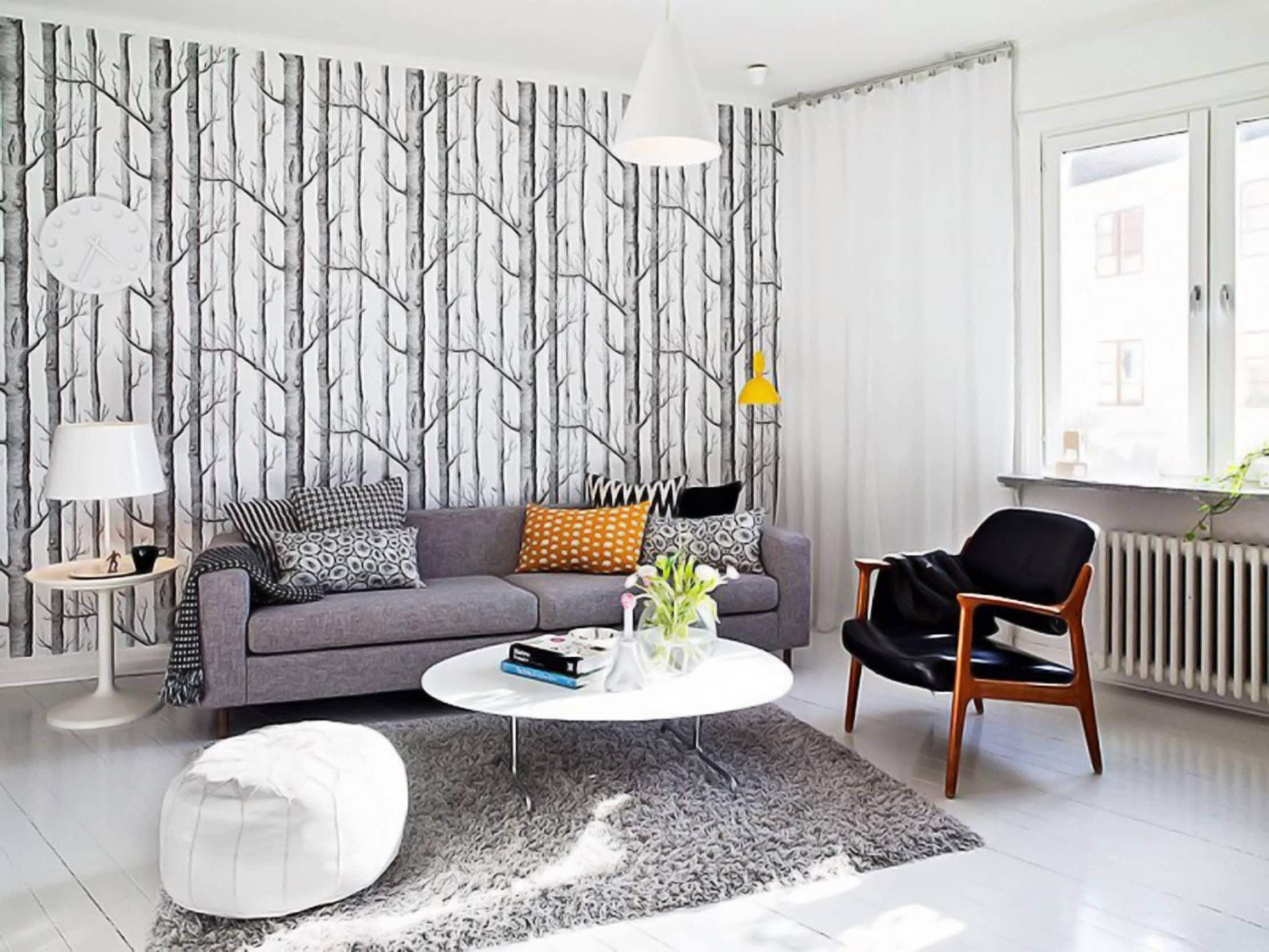 Light Grey Leather Sofa Living Room Ideas   Centerfieldbar throughout Living Room With Grey Sofas (Image 12 of 15)