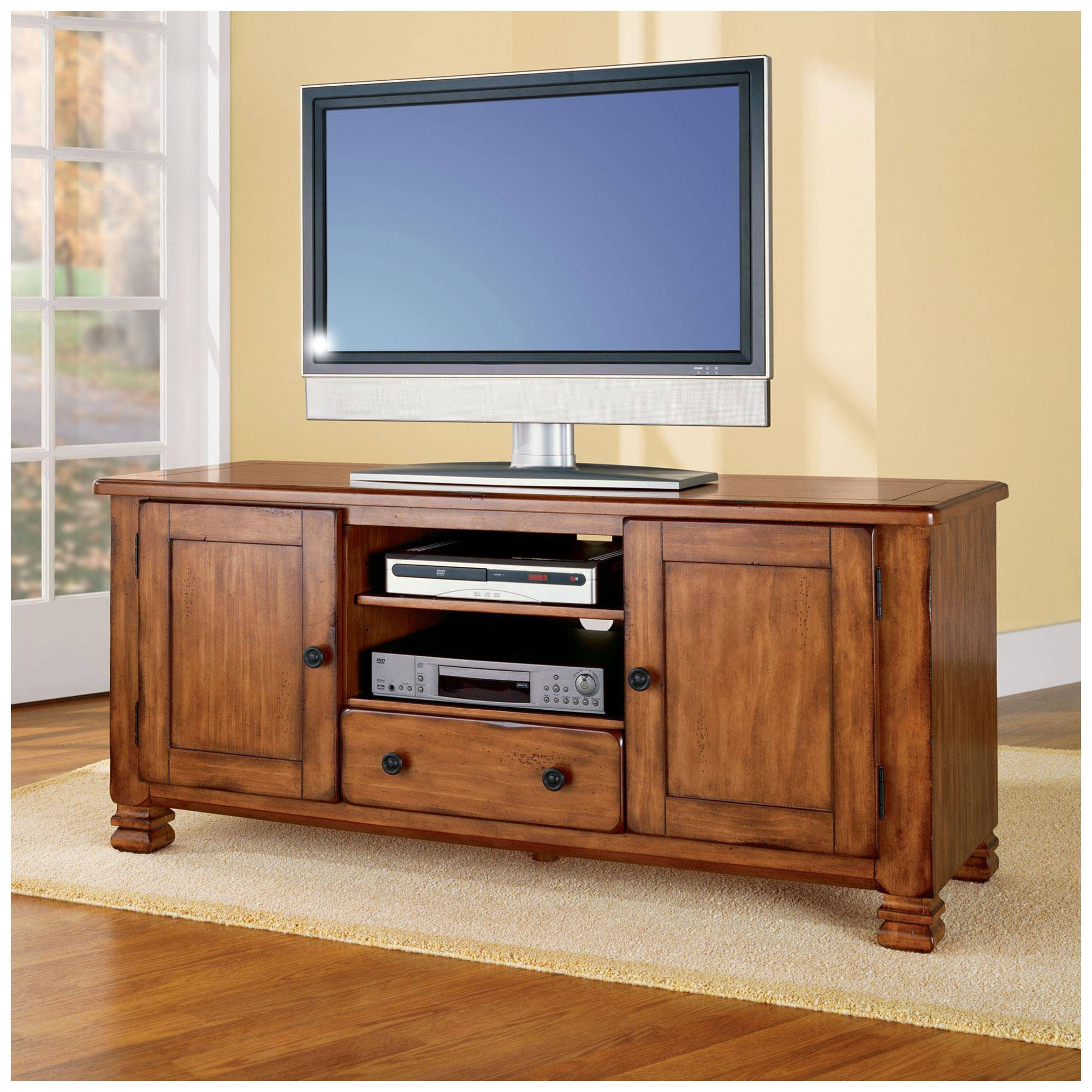 Featured Photo of Light Oak Tv Stands Flat Screen