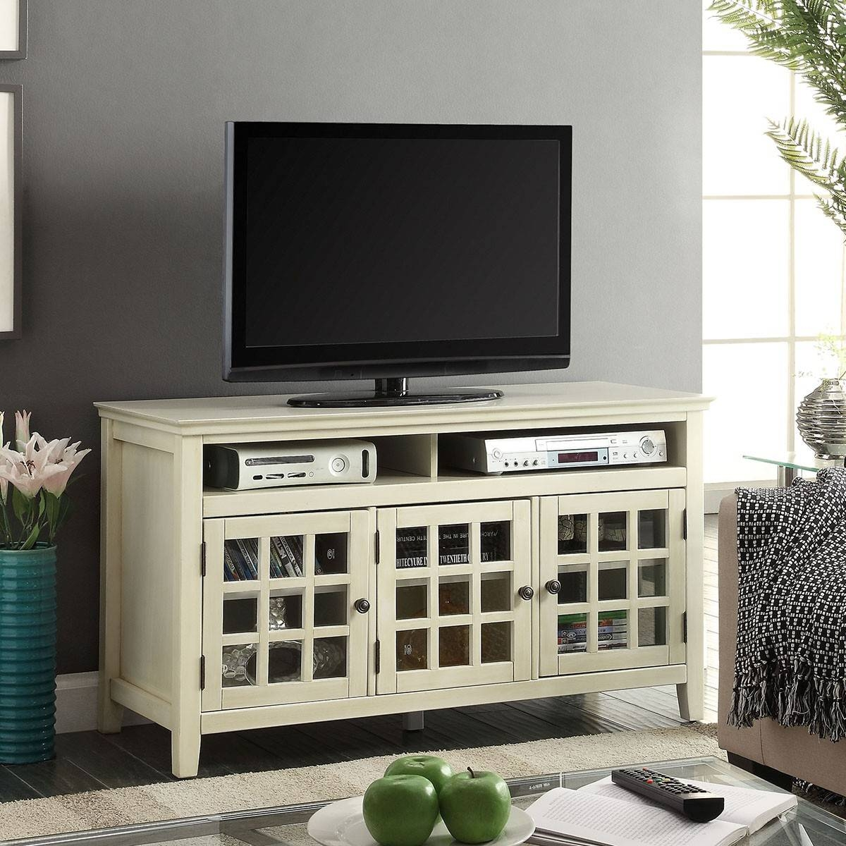 Featured Photo of Glass Fronted Tv Cabinet