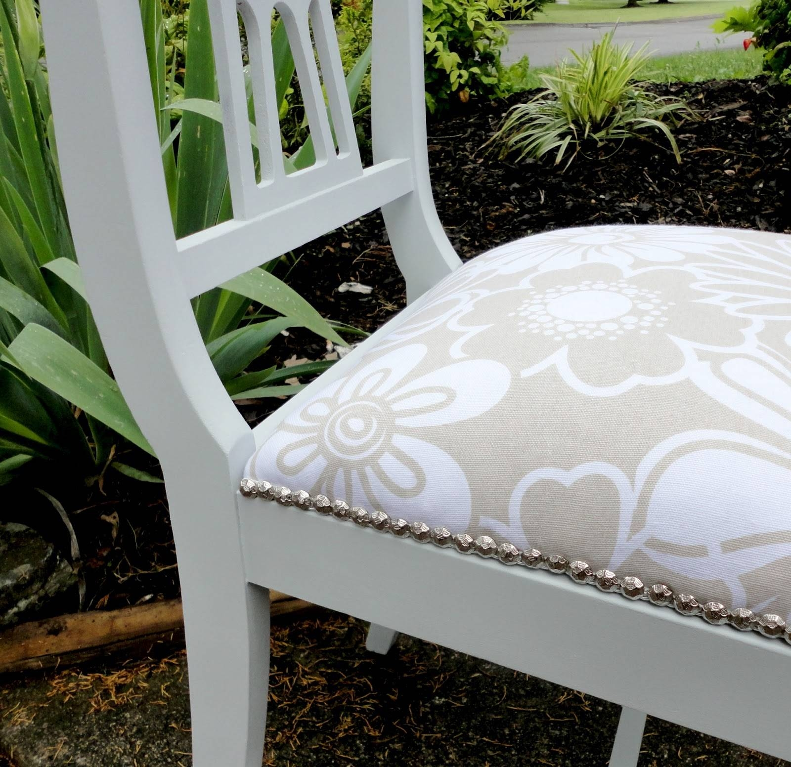 Livelovediy: How To Reupholster A Chair within Reupholster Sofas Cushions (Image 12 of 15)