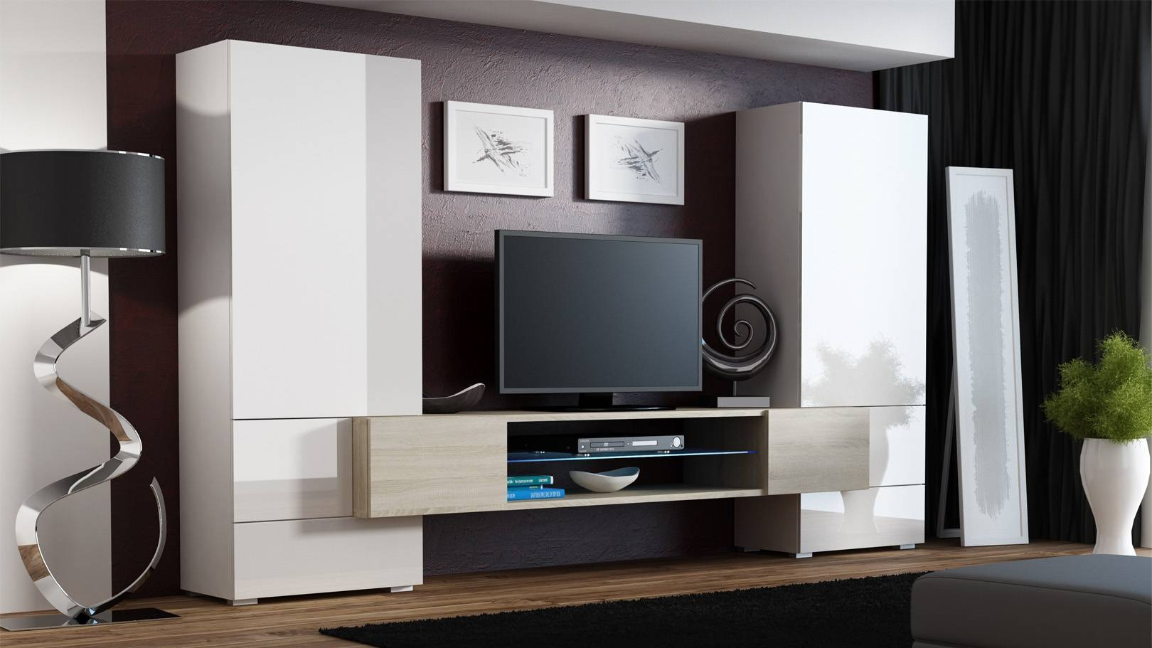 Living ~ Beautiful Tv Cabinet Designs Intended Designs Tv Stands With Regard To Glass Fronted Tv Cabinet (View 8 of 15)