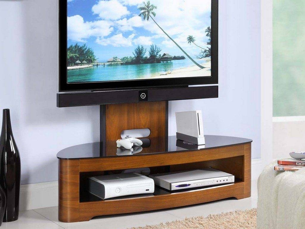 Living ~ Black Wood Tv Stand Wall Tv Stands For Flat Screen Tvs Tv Pertaining To Unique Tv Stands For Flat Screens (View 10 of 15)