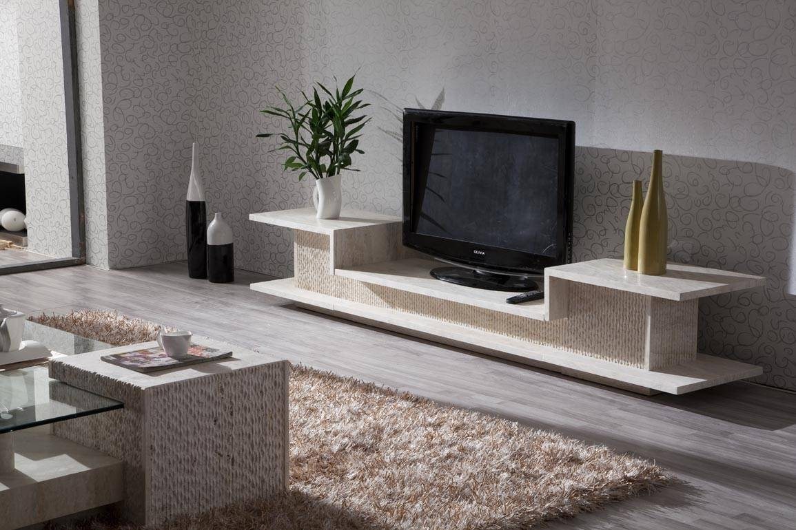 Top 15 of luxury tv stands - Dresser as tv stand in living room ...