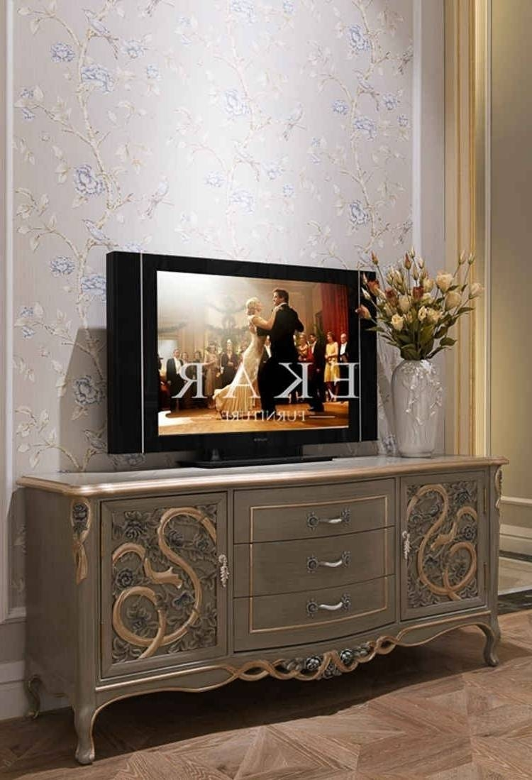 Living ~ Classic Tv Stands Wooden Furniture Marble Tv Stand Living with regard to Classic Tv Cabinets (Image 11 of 15)
