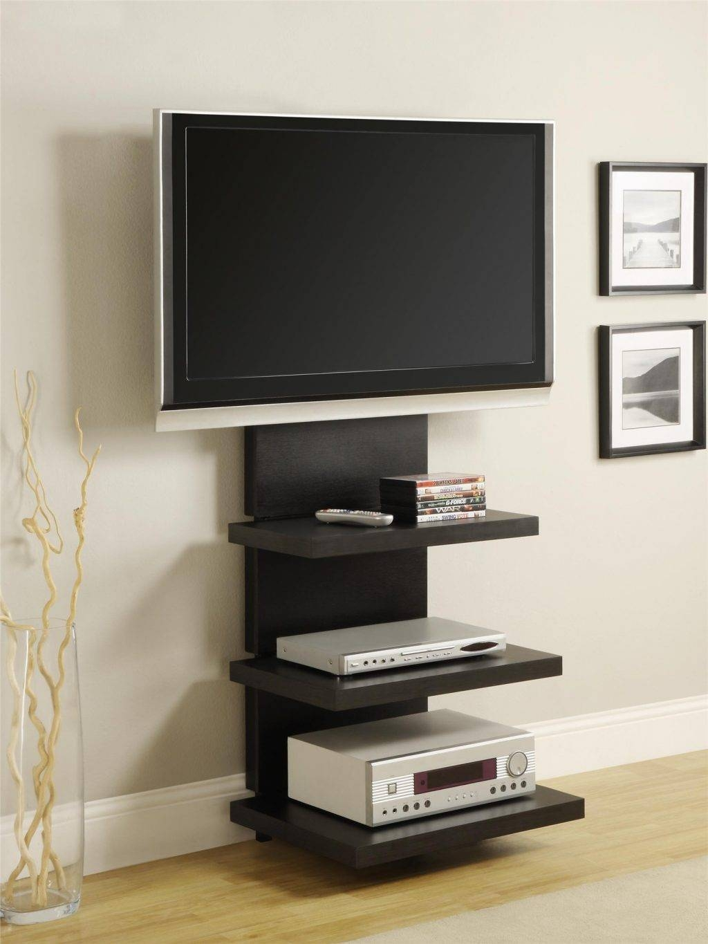 Living ~ Led Tv Furniture Design 55 In Tv Stand Small Tv Unit For Regarding Tv Stands For Small Spaces (Photo 7 of 15)