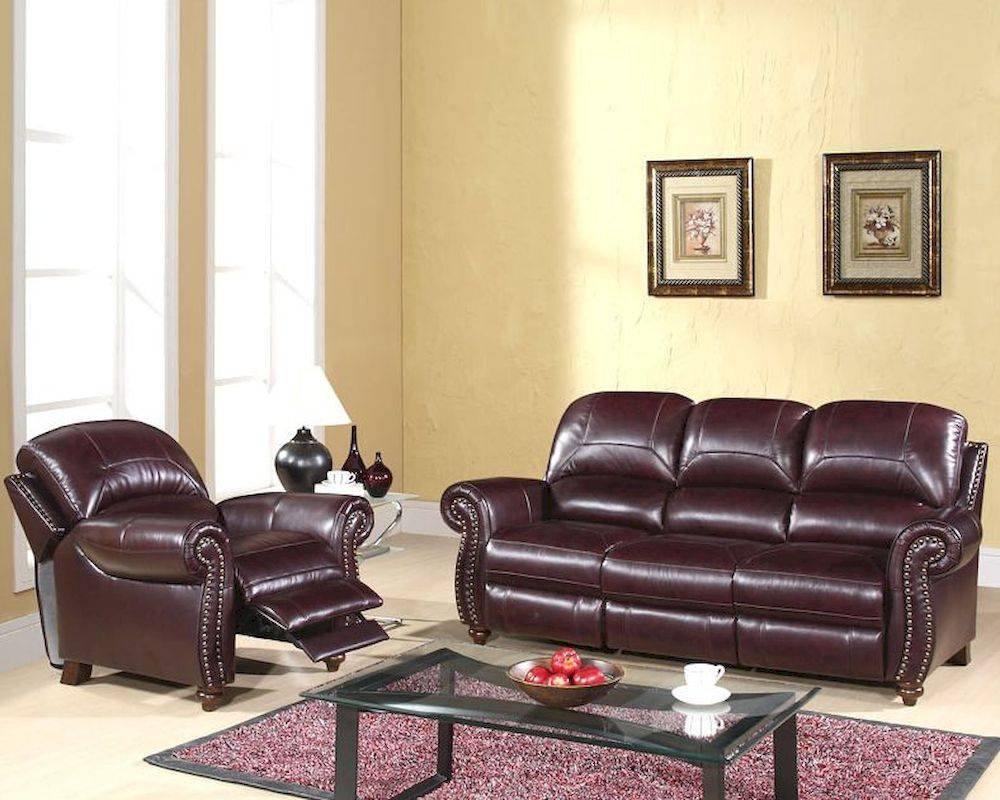 Living Reclining Sofa Set Cambridge Ab-55Ch-8857-Brg-3-1 in Abbyson Living Sofas (Image 7 of 15)