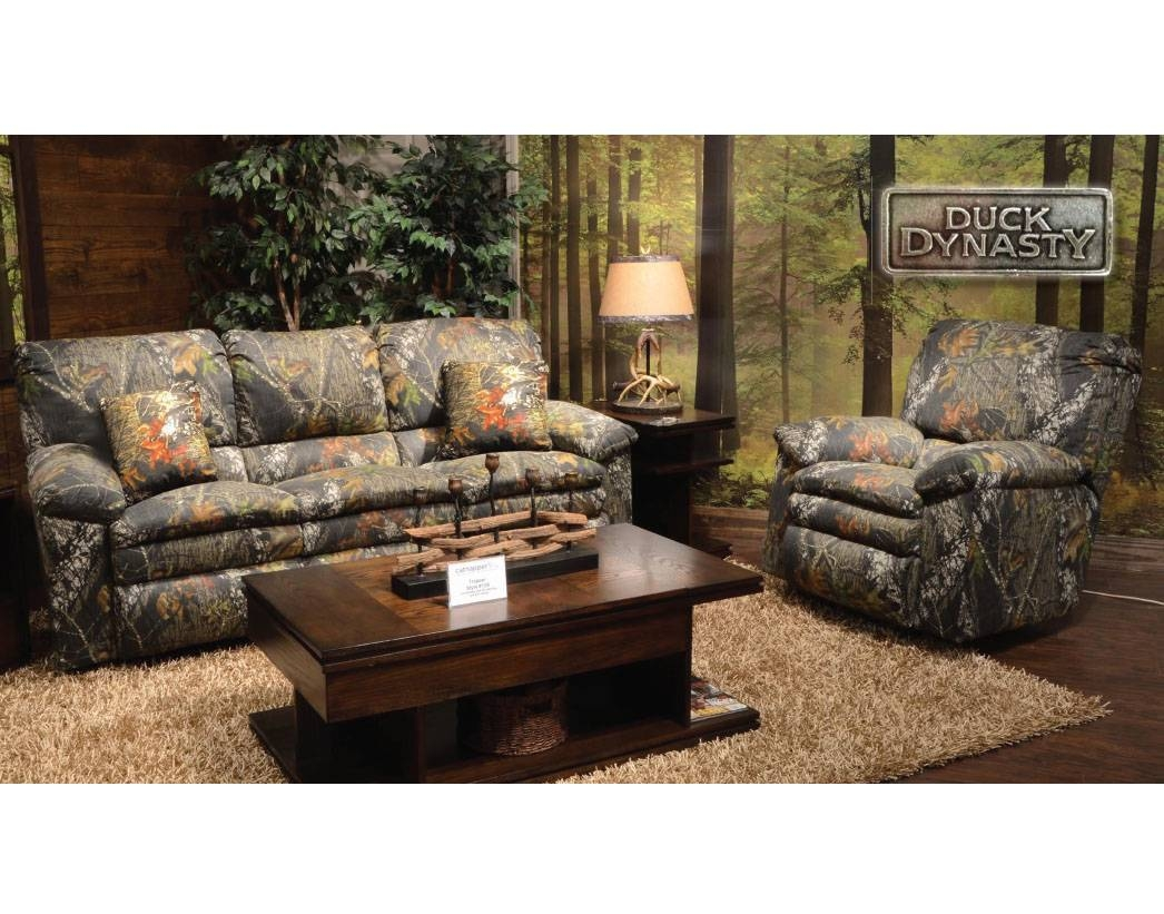 Living Room: Amusing Camo Living Room Furniture Camo Couches in Camo Reclining Sofas (Image 11 of 15)