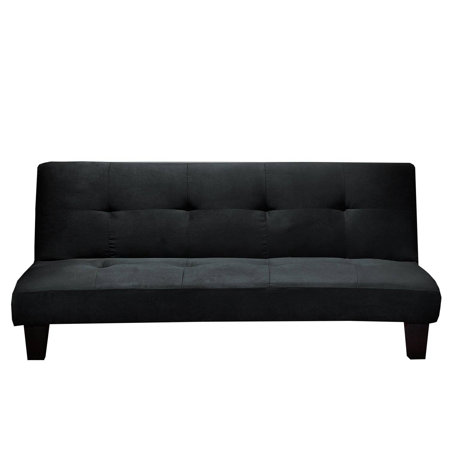 Living Room: Ava Velvet Tufted Sleeper Sofa | Contemporary Futon with Ava Velvet Tufted Sleeper Sofas (Image 11 of 15)