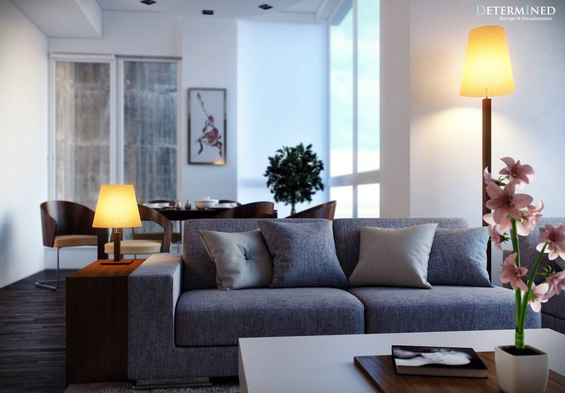 Living Room: Beautiful Grey Sofa Living Room Ideas Houzz Grey Sofa pertaining to Blue Grey Sofas (Image 12 of 15)