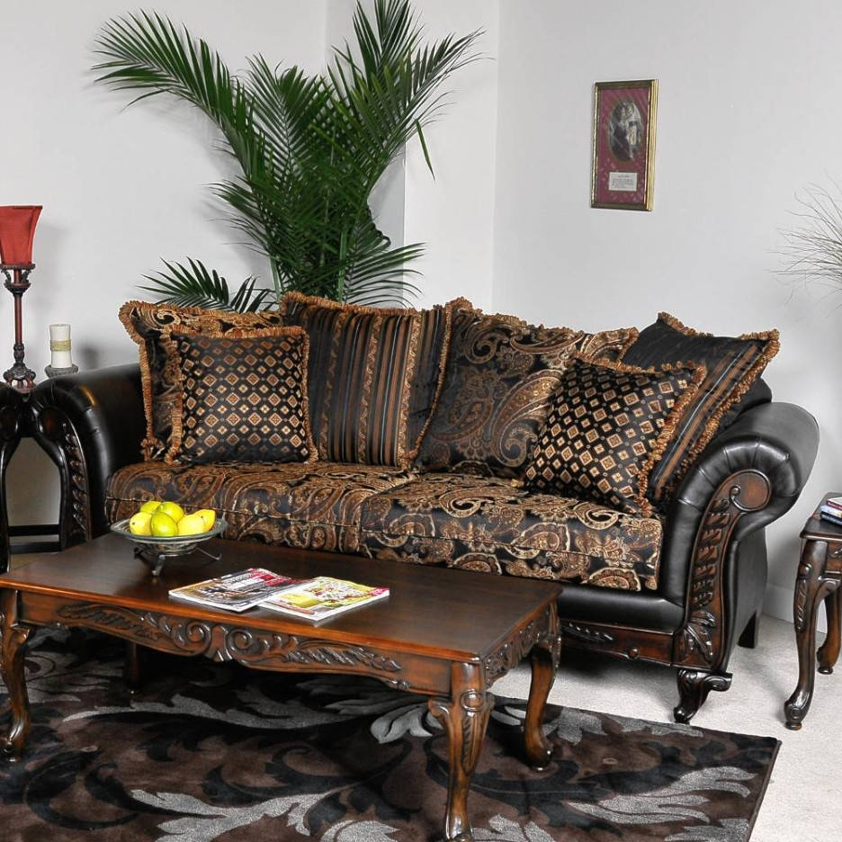 Living Room Charming Image Of Living Room Design And Decoration Within Cowhide Sofas (View 9 of 15)
