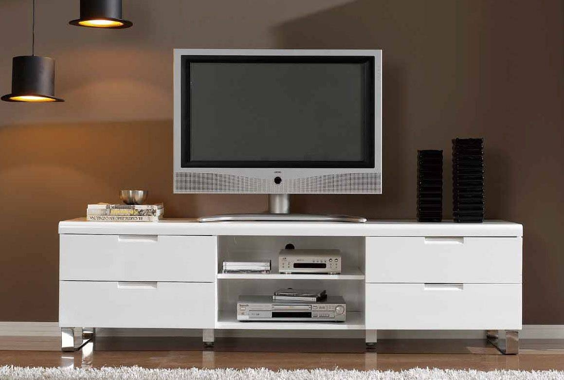 Living Room : Contemporary Tv Stand Design Ideas For Living Room Pertaining To Tv Stands With Drawers And Shelves (View 4 of 15)