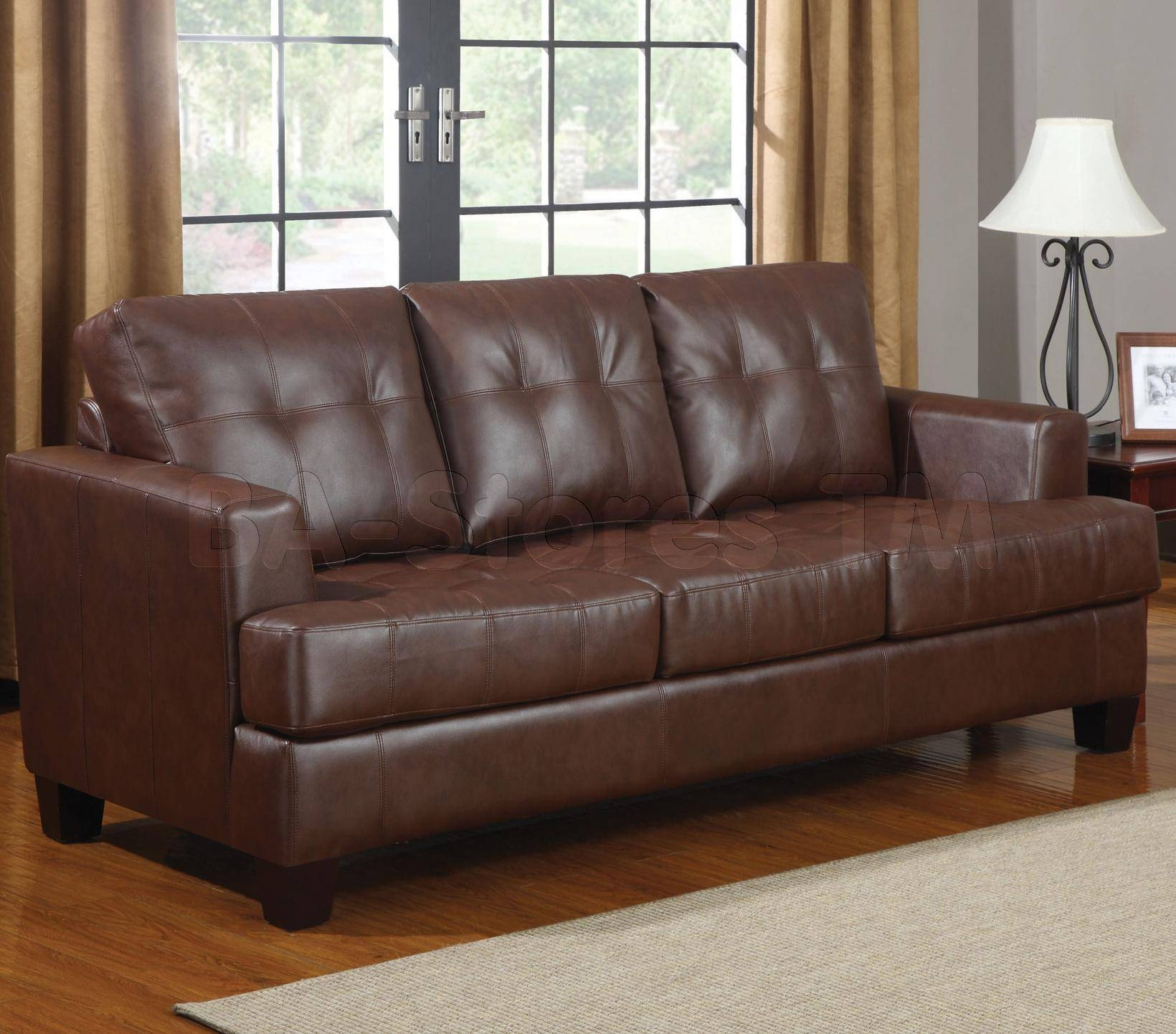 Living Room : Living Room Interior Ideas Furniture Leather Sofa for Contemporary Brown Leather Sofas (Image 12 of 15)