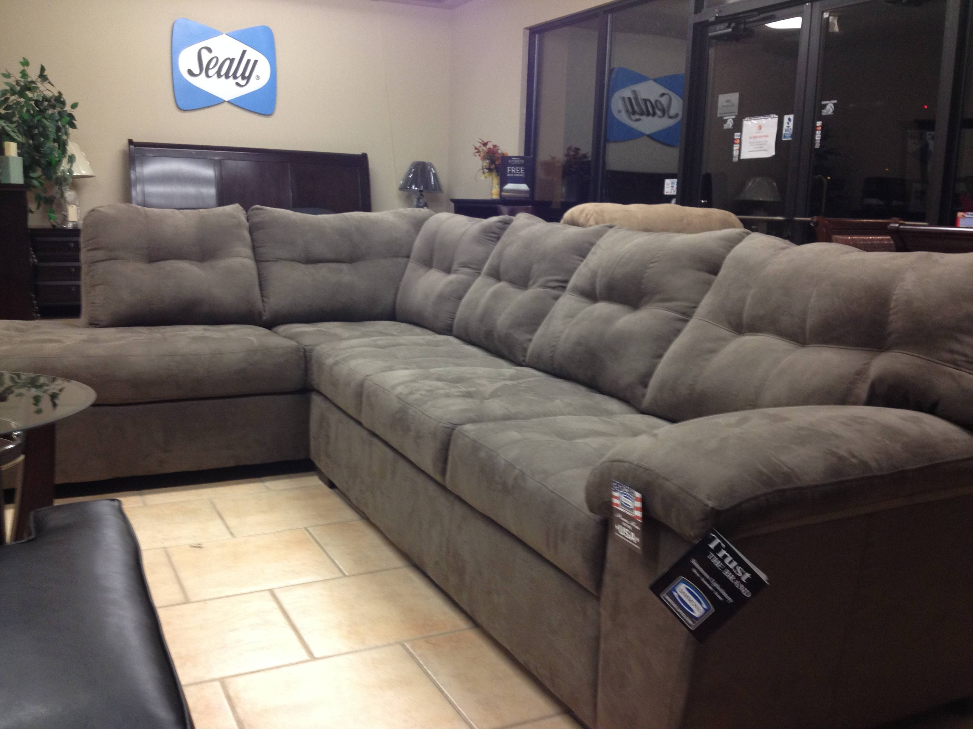 Living Room Sectional Liquidation – Simmons® & Parker House with regard to Simmons Microfiber Sofas (Image 14 of 15)