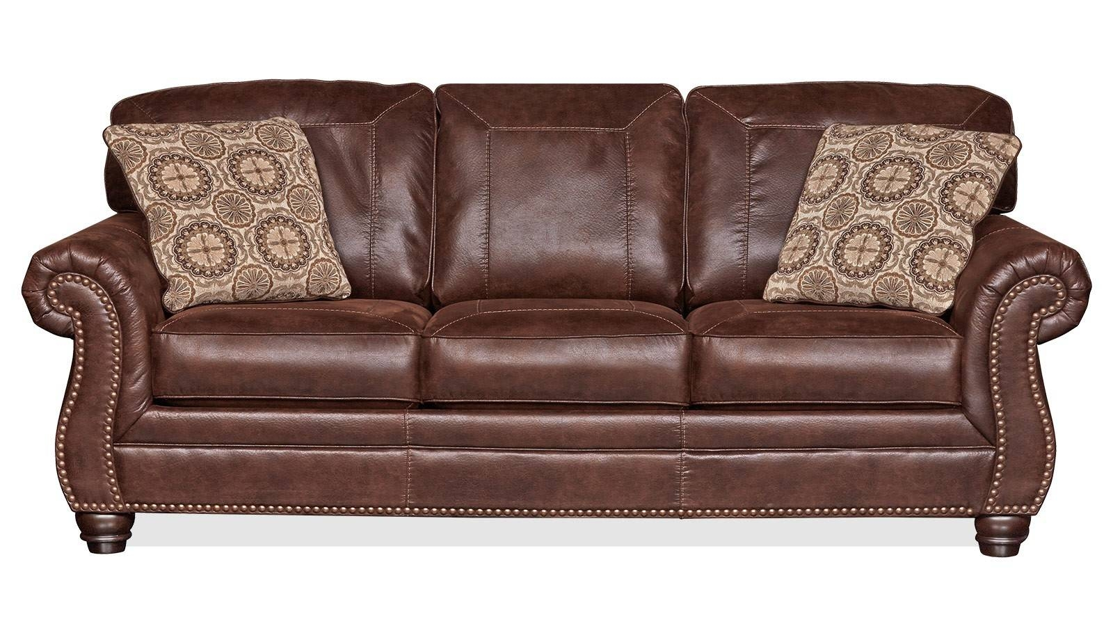 Living Room Sofas | Gallery Furniture within Camel Colored Leather Sofas (Image 10 of 15)