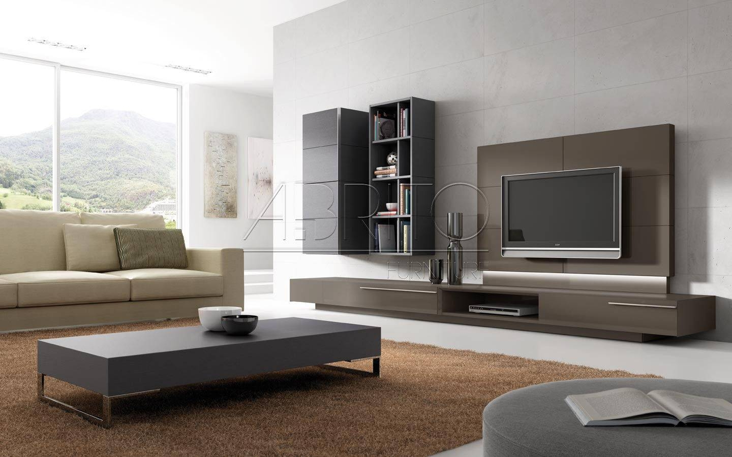 Living Room Tv Units Modern Contemporary Inspiring With Living with regard to Modern Tv Cabinets (Image 12 of 15)