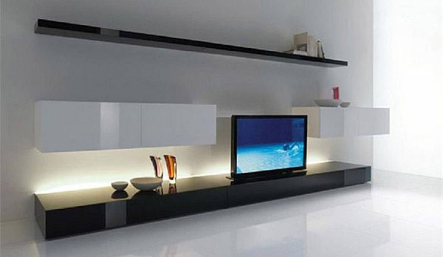 Living Room : Wall Tv Cabinet Beautiful Minimalist Modern Wall Tv inside Modern Design Tv Cabinets (Image 14 of 15)