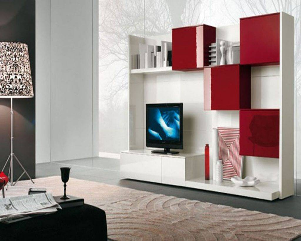 Living ~ Small Tv Component Cabinet Tv Component Shelf Huge White Inside Red Tv Cabinets (View 15 of 15)