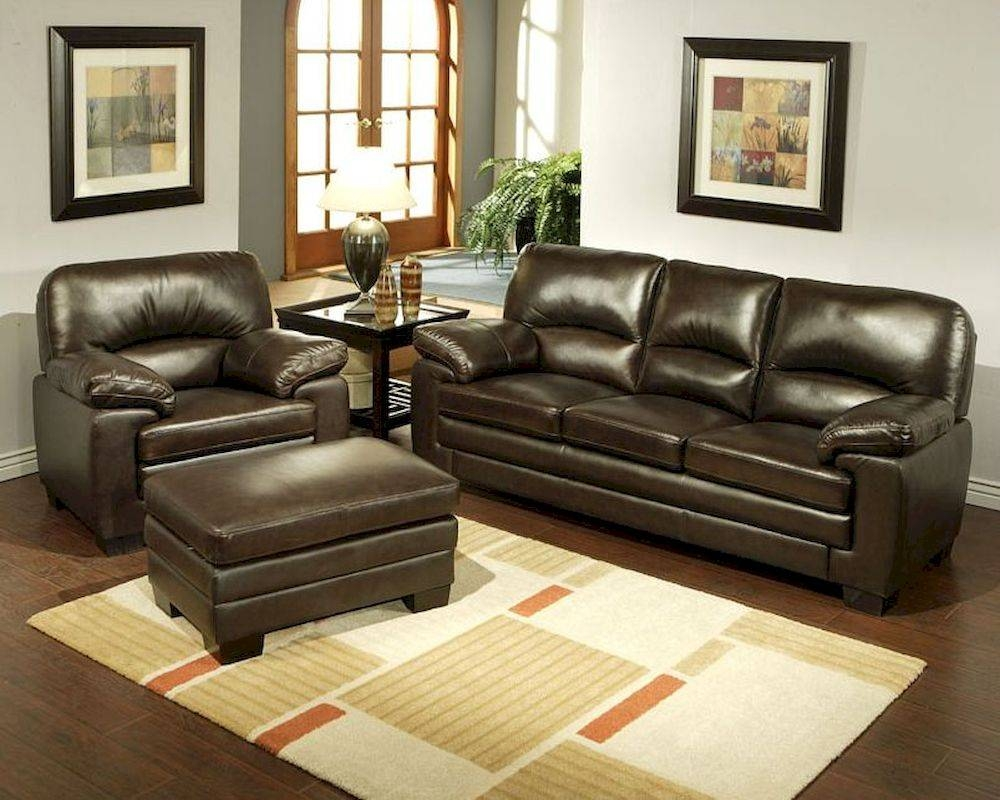 Living Sofa Set Montecito Ab-55Ch-1953-Brn-3-1-4 intended for Abbyson Sofas (Image 12 of 15)