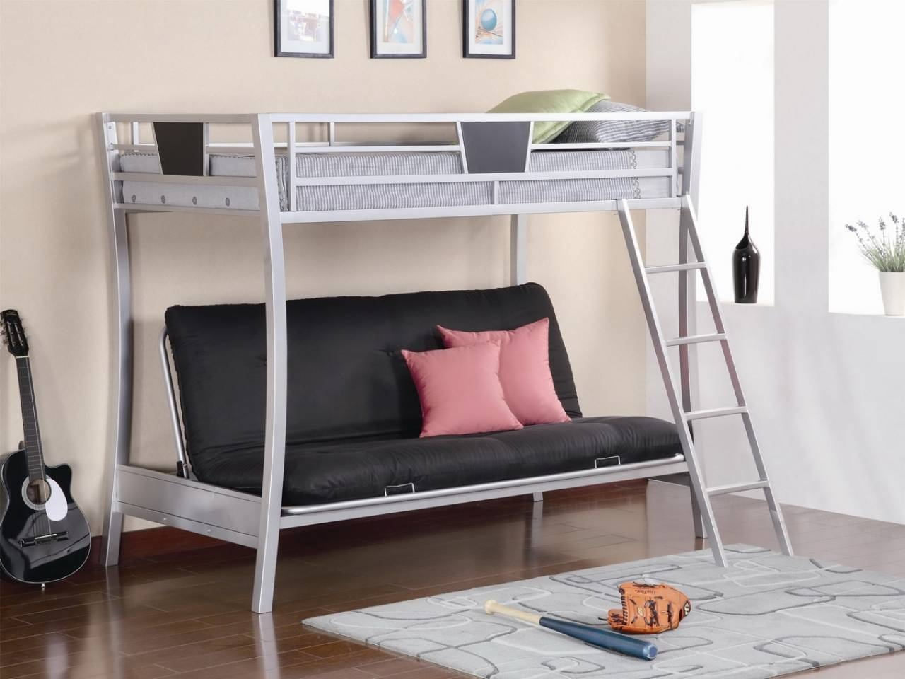 Loft Beds With Sofa Bed Underneath About Bunk #11104 - Homedessign for Bunk Bed With Sofas Underneath (Image 11 of 15)