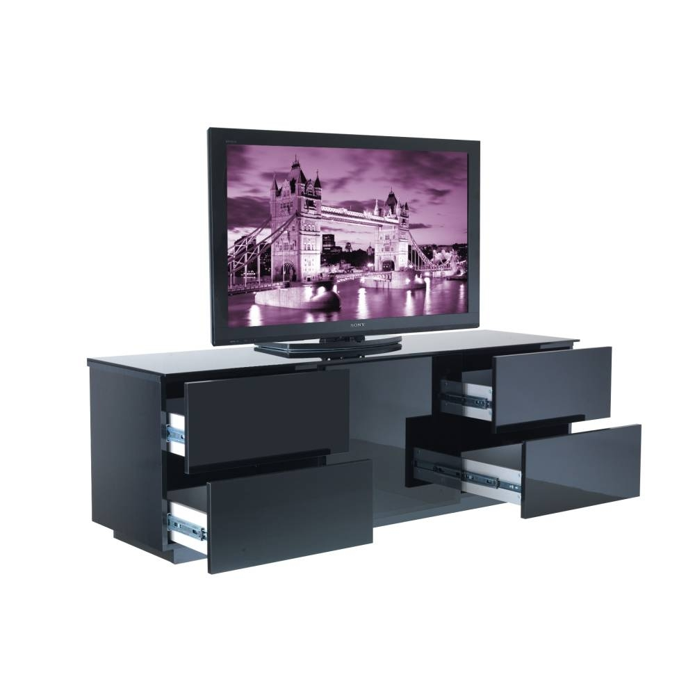 London Tv Cabinet Delivered Throughout The Uk in Black Gloss Tv Cabinet (Image 9 of 15)