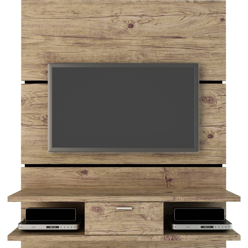 Long Narrow Espresso Floating Entertainment Shelves And Tv Stand intended for Wood Tv Entertainment Stands (Image 7 of 15)