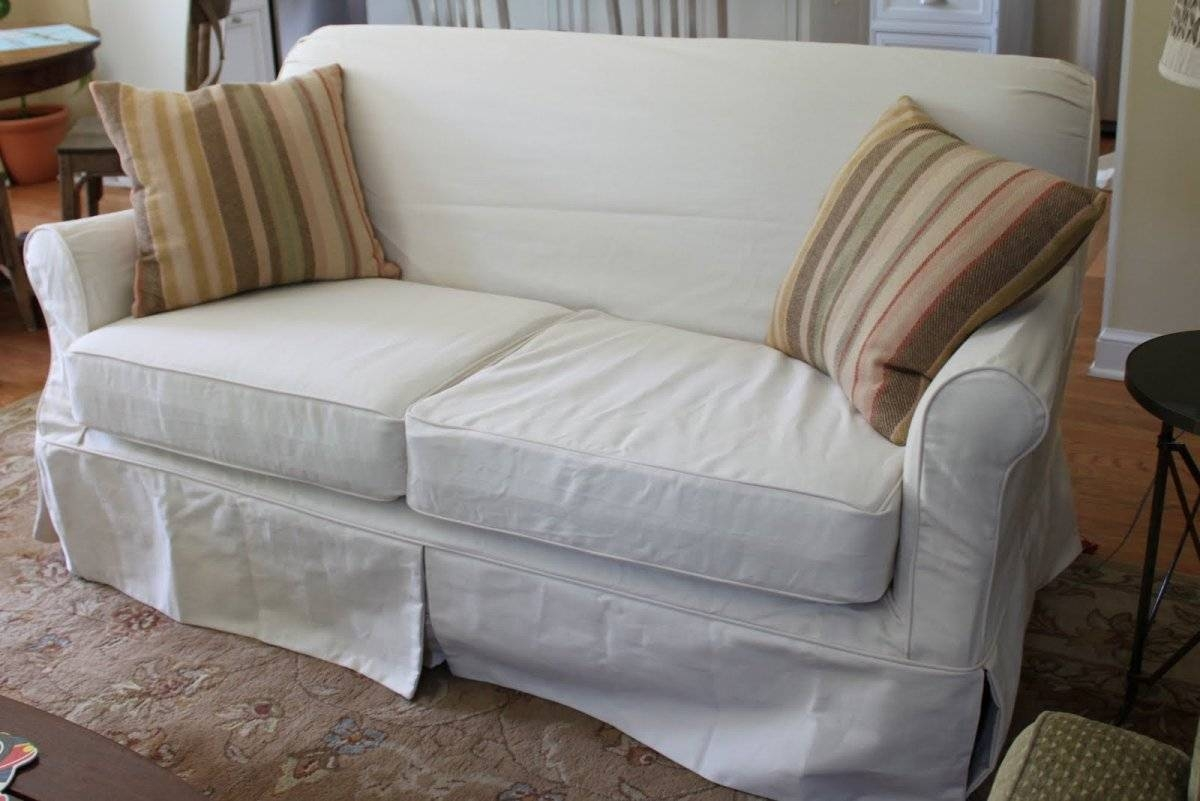 Lovable Slipcover Sleeper Sofa Marvelous Living Room Furniture For Slipcovers For Sleeper Sofas (Photo 10 of 15)