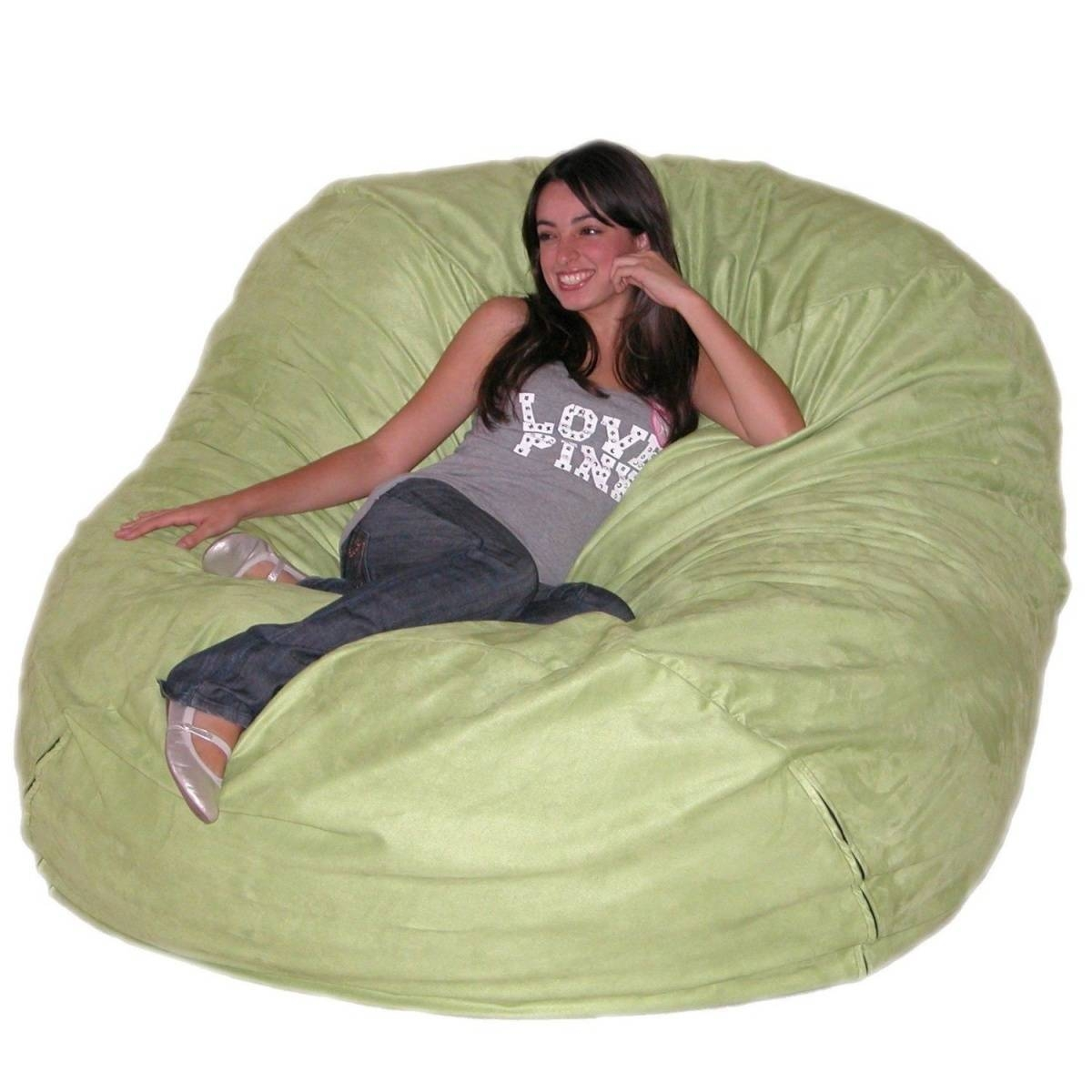 Lovely Giant Bean Bag Chairs For Your Home Decorating Ideas With within Giant Bean Bag Chairs (Image 15 of 15)