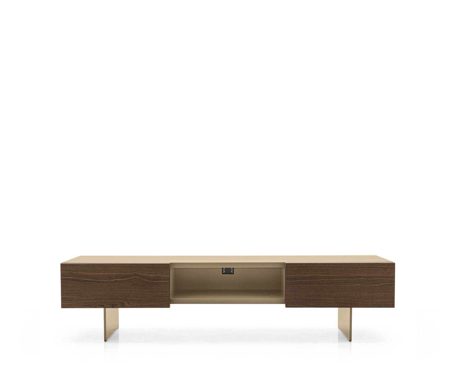 Low Tv Bench Sipario – Calligaris Cs/6050 4 With Long Low Tv Cabinets (View 8 of 15)