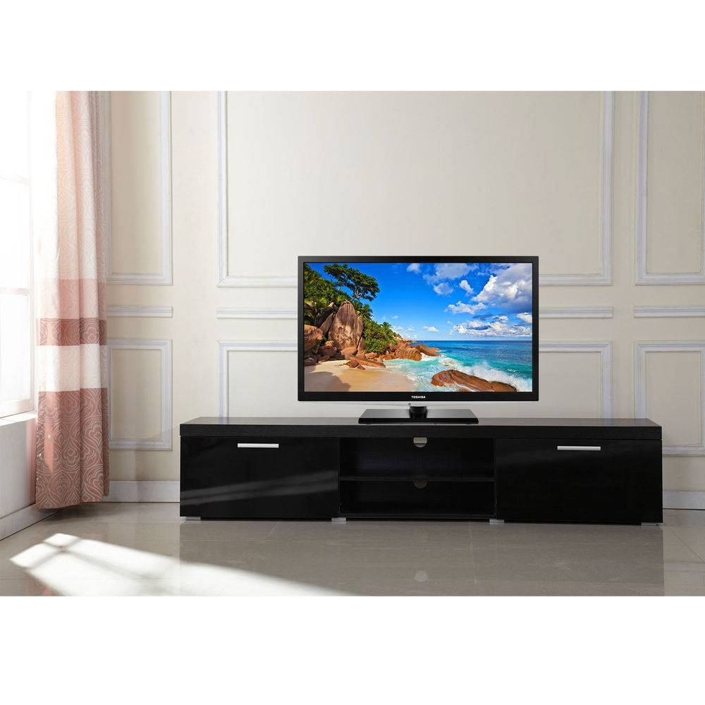 Low Tv Stand | Ebay Pertaining To Low Tv Units (View 13 of 15)