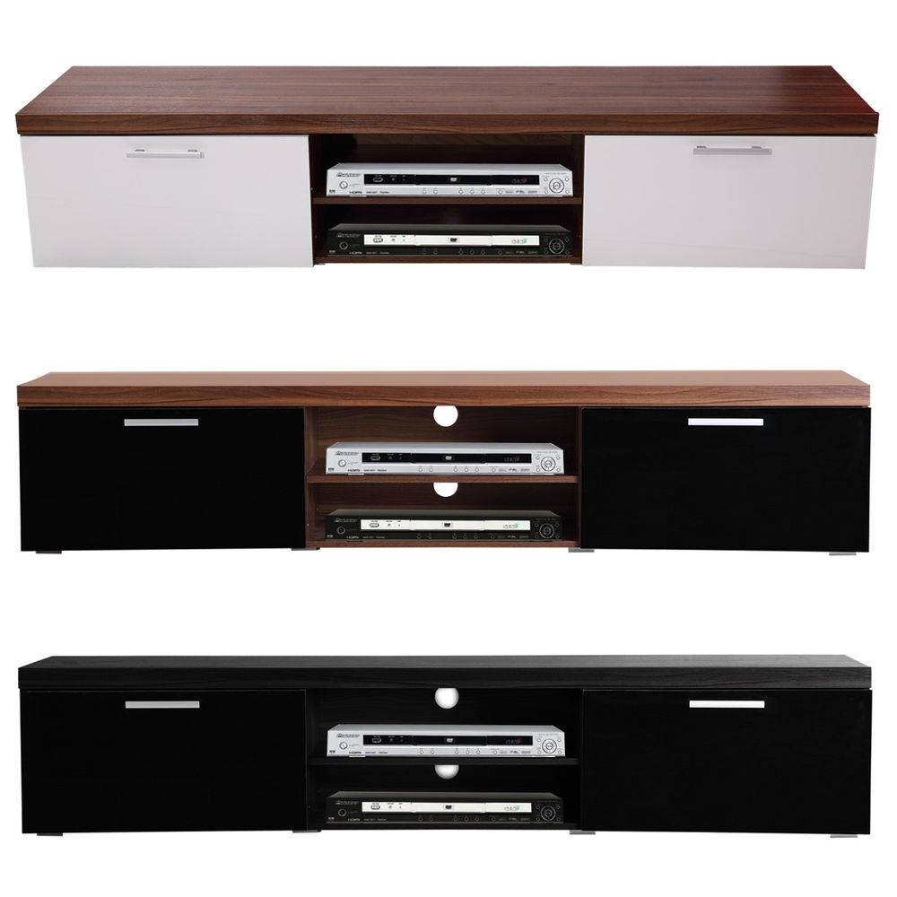 Low Tv Stand | Ebay Regarding Long Low Tv Cabinets (View 6 of 15)