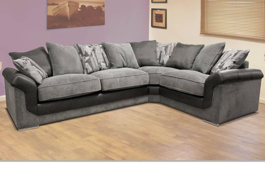 Luman Corner Sofa inside Corner Sofas (Image 9 of 15)
