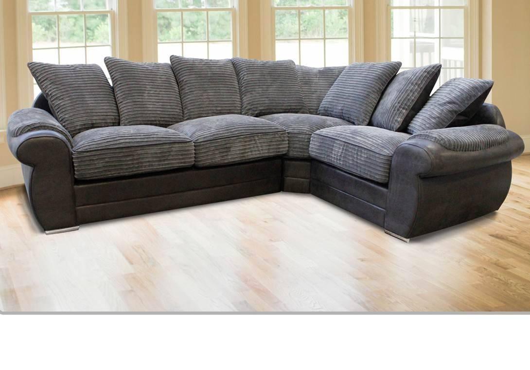Lux Corner Sofa inside Corner Sofas (Image 10 of 15)