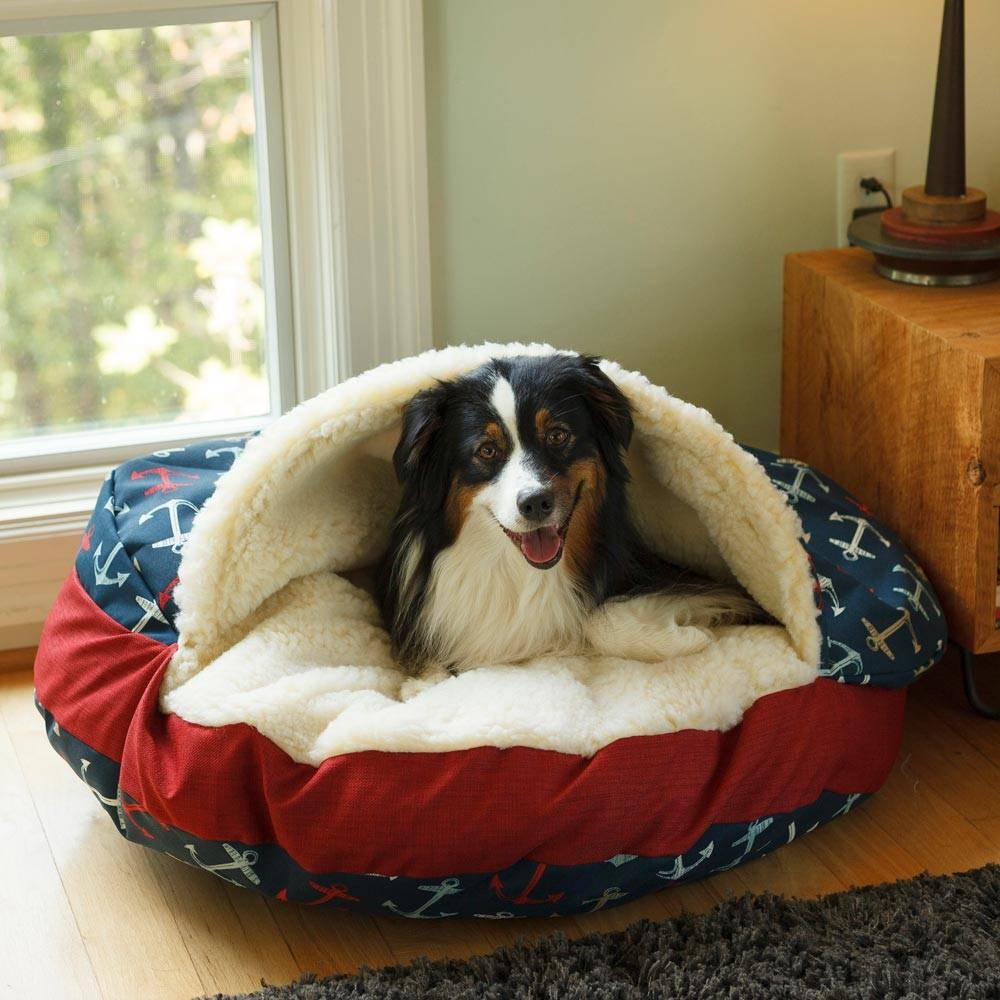 Luxury Cozy Cave Dog Bed | Wag Collection | Snoozer intended for Snoozer Luxury Dog Sofas (Image 1 of 15)