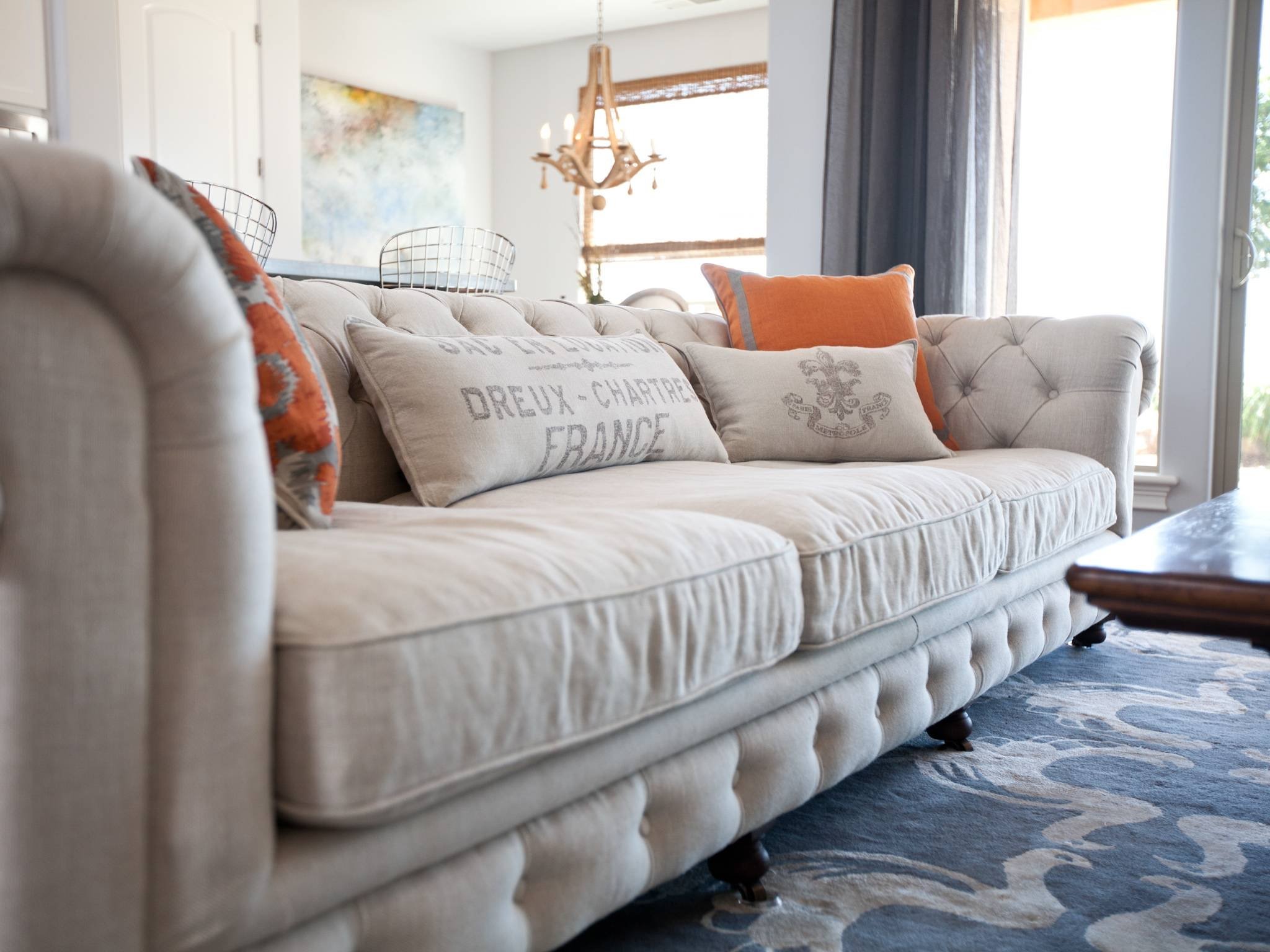 Magnificent Ideas Deep Couches Living Room Dazzling Club 96 Tufted regarding Arhaus Club Sofas (Image 12 of 15)