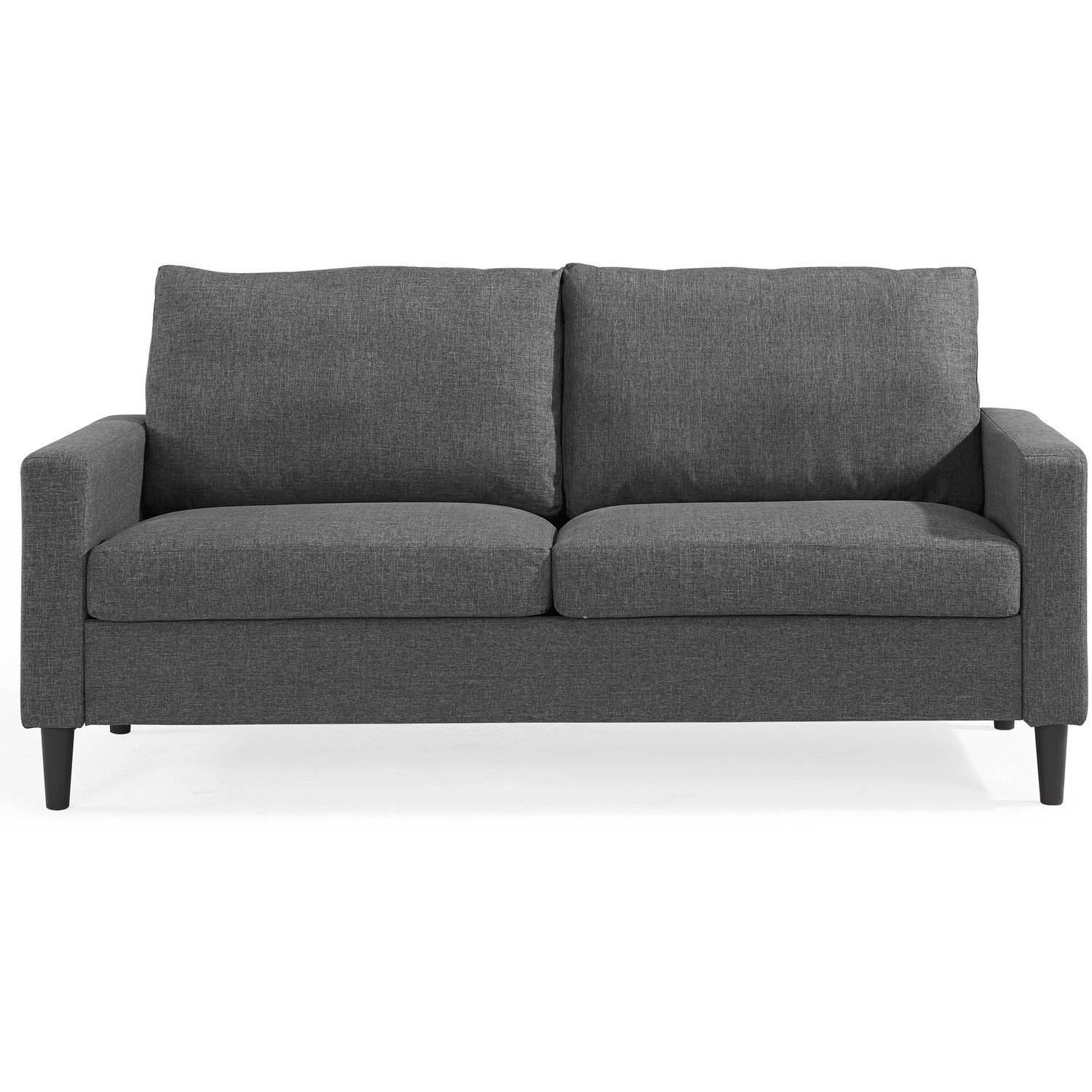 Mainstays Apartment Sofa, Multiple Colors - Walmart in Mainstay Sofas (Image 12 of 15)