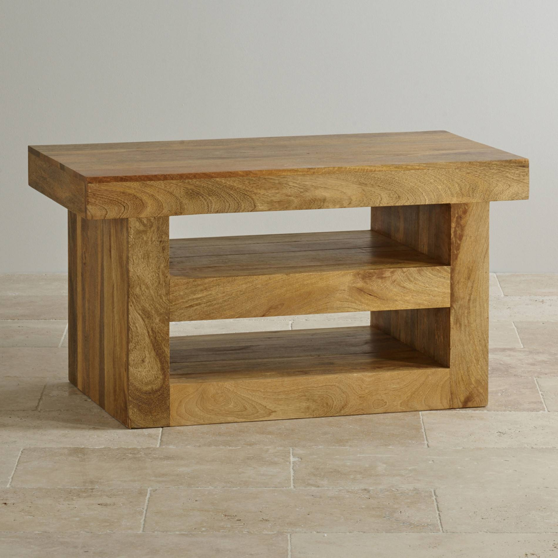 Top 15 Of Chunky Oak Tv Unit