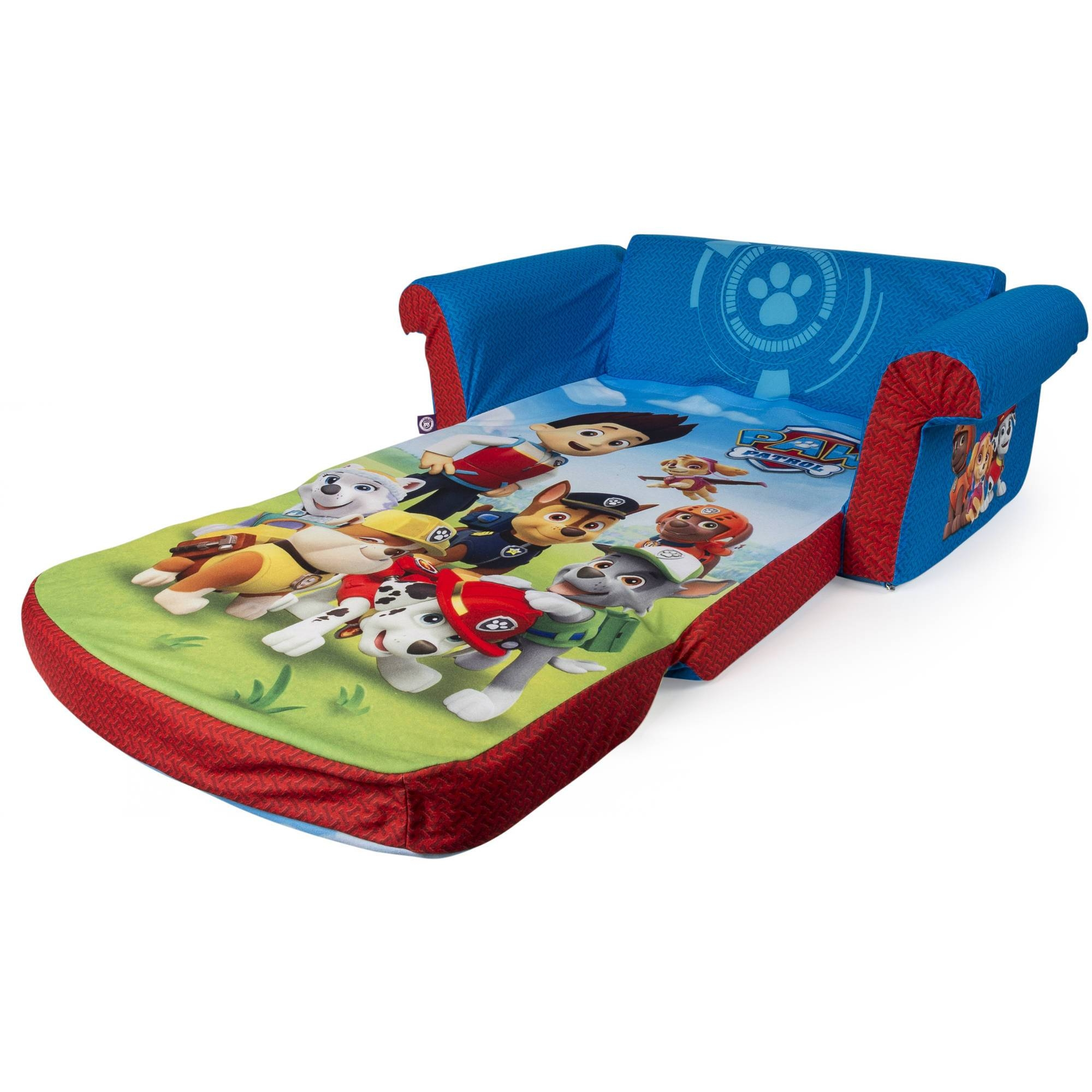 Marshmallow Furniture, Children's 2 In 1 Flip Open Foam Sofa pertaining to Flip Open Kids Sofas (Image 8 of 15)