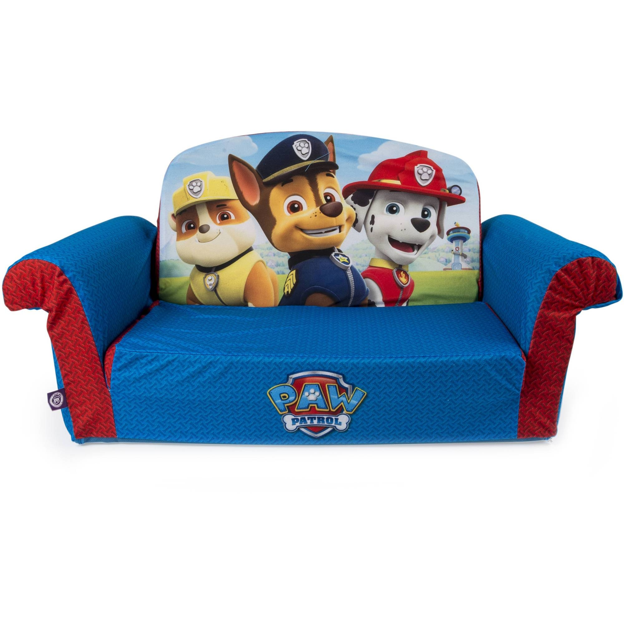 Marshmallow Furniture, Children's 2 In 1 Flip Open Foam Sofa within Kid Flip Open Sofa Beds (Image 11 of 15)