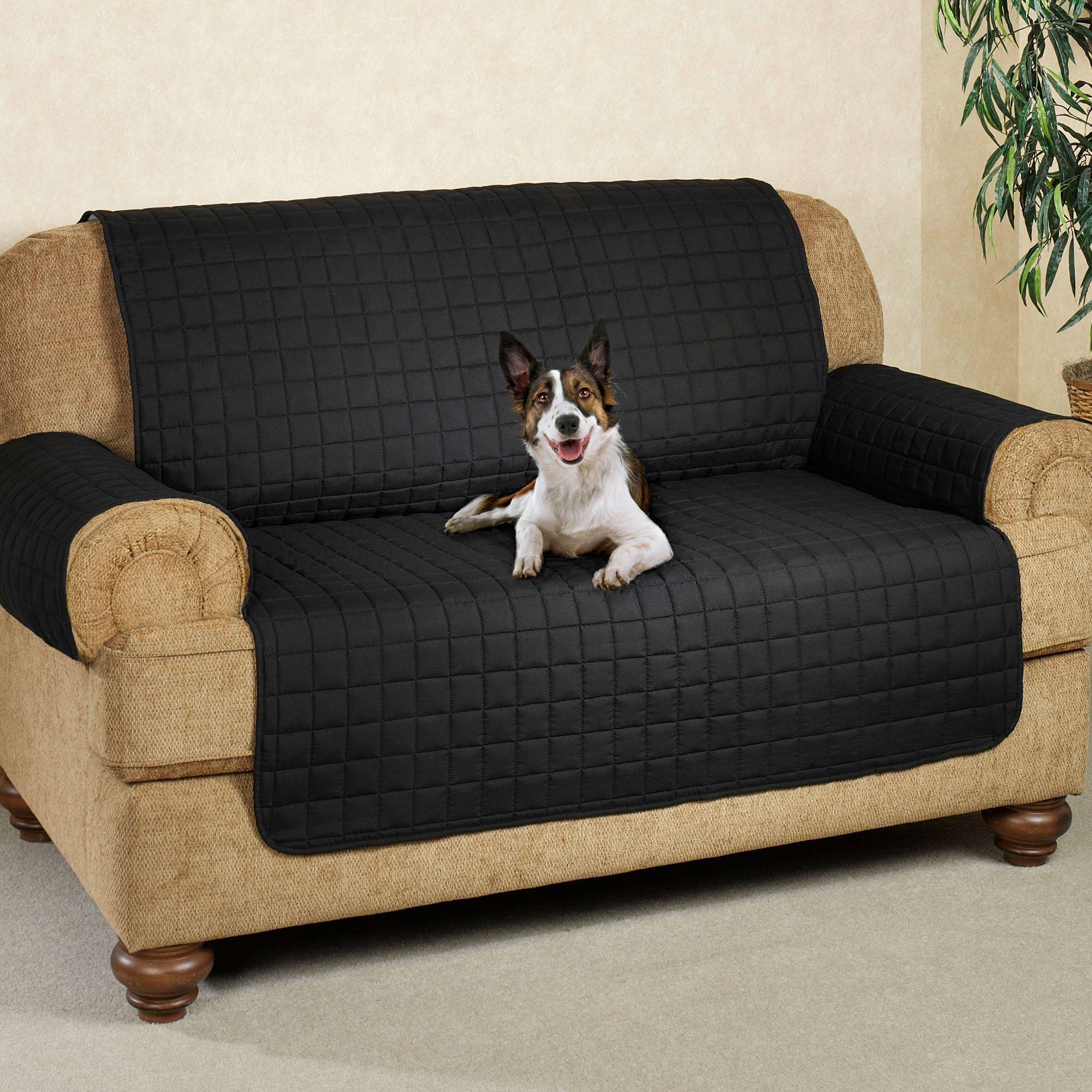 Microfiber Pet Furniture Covers With Tuck In Flaps Pertaining To Cat Proof Sofas (View 10 of 15)